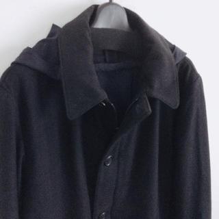 マルニ(Marni)のMARNI★高級フラノショートコートジャケット☆ウィズフード(その他)