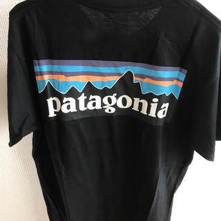バックプリント 半袖Tシャツ L 黒