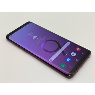 エヌティティドコモ(NTTdocomo)の(182)galaxy S9+ plus 64GB SIMフリー 大画面スマホ (スマートフォン本体)