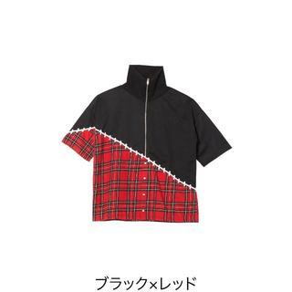 アンコロック(ankoROCK)の[ankoROCK]移植半袖ボリュームネックジャージ -スーパービッグ-(Tシャツ(半袖/袖なし))