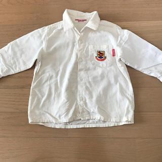 ミキハウス(mikihouse)のコーデュロイシャツ 80cm(シャツ/カットソー)