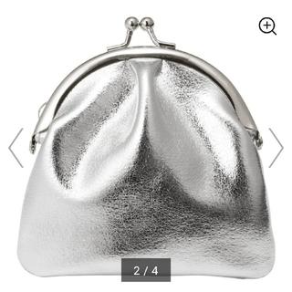 ジーユー(GU)の人気GUがま口 ミニウォレットシルバー 財布(財布)