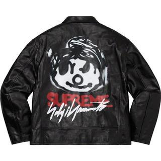 Supreme - Supreme Yohji Yamamoto leather jacket