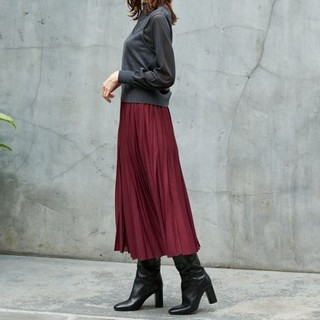 ANAYI - 【新品・未使用】アナイ ハイツイストボイルプリーツスカート