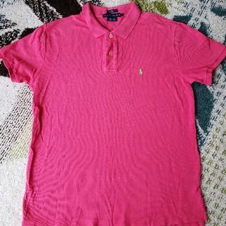 ラルフローレン(Ralph Lauren)の⭐ラルフローレン ピンク クラシックフィット ポロシャツ(ポロシャツ)