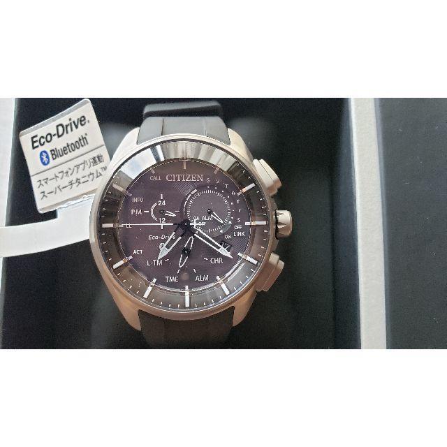 CITIZEN(シチズン)のCITIZEN エコドライブ Bluetooth BZ1040-09E メンズの時計(腕時計(アナログ))の商品写真