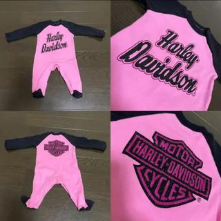 ハーレーダビッドソン(Harley Davidson)のハーレーダビットソン 赤ちゃん ロンパース(ロンパース)