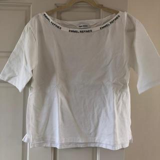 ユナイテッドアローズ(UNITED ARROWS)のユナイテッドアローズ EMMEL REFINES Tシャツ ホワイト(Tシャツ(半袖/袖なし))