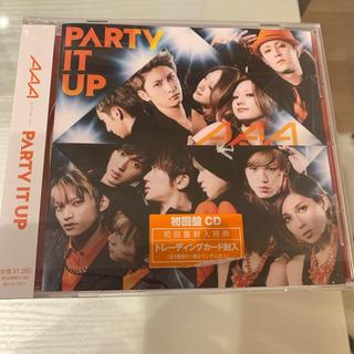 トリプルエー(AAA)のAAA  PARTY IT UP(ポップス/ロック(洋楽))