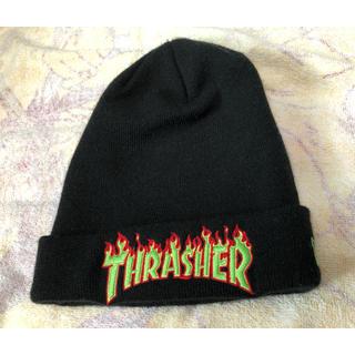 ニューエラー(NEW ERA)の【NEWERA】THRASHERビーニー(ニット帽/ビーニー)