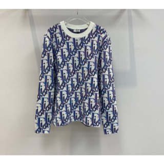 ディオール(Dior)の【DIOR】20AW新作*Dior Oblique ウール ジャガード セーター(ニット/セーター)