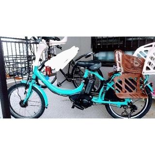 ヤマハ(ヤマハ)のヤマハ PAS Babby 電動アシスト自転車 20インチ 幼児2人乗せ3人乗り(自転車本体)