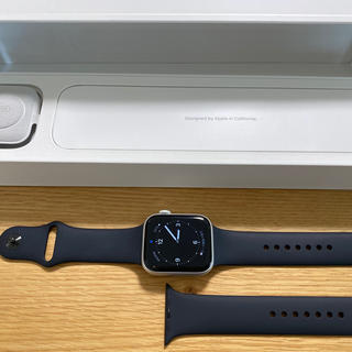 Apple Watch - Apple Watch Series 5 GPS 44mm シルバーアルミニウム