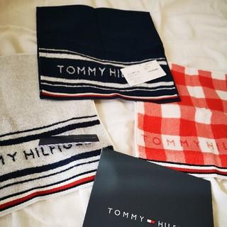 TOMMY HILFIGER - TOMMY HILFIGER ハンカチ 3点セット