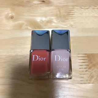 ディオール(Dior)のdior ヴェルニ 2色セット(マニキュア)