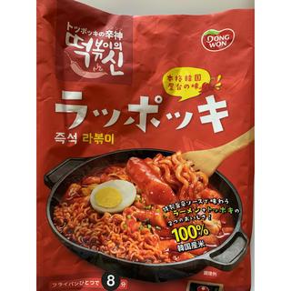 コストコ(コストコ)のコストコ 本格韓国屋台の味 ラッポッキ 3人前×1セット(麺類)