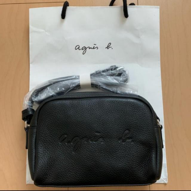 agnes b.(アニエスベー)のアニエスベー agnes b. ショルダーバッグ ロゴ入り  レディースのバッグ(ショルダーバッグ)の商品写真