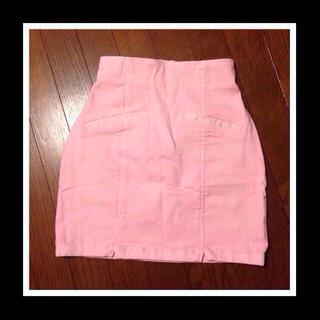 マーキュリーデュオ(MERCURYDUO)のカラータイトスカート(ミニスカート)