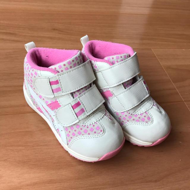 asics(アシックス)のアシックス  15.5㎝ キッズ/ベビー/マタニティのキッズ靴/シューズ(15cm~)(スニーカー)の商品写真