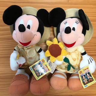 Disney - ディズニー ミッキー&ミニー ペアぬいぐるみ