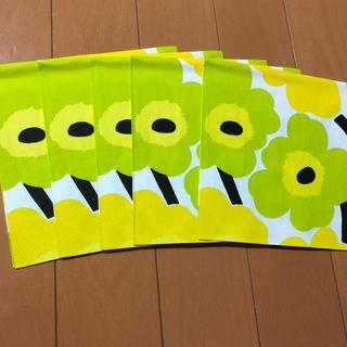 マリメッコ(marimekko)のペーパーナプキン   マリメッコ   U - ⑨    5枚(各種パーツ)