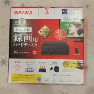Buffalo - バッファロー 外付HDD 4TB HD-LD4.0U3-BKA