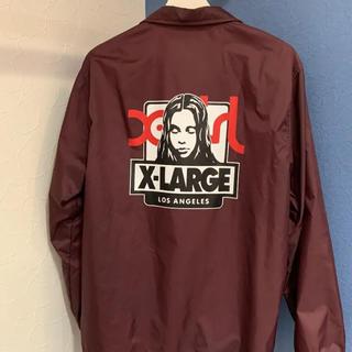エクストララージ(XLARGE)のX-LARGE×X-girl コラボ コーチジャケット(ナイロンジャケット)
