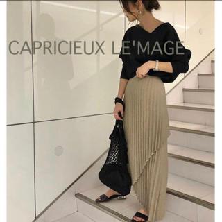 GALLARDA GALANTE - 今期✨¥13970 CAPRICIEUX LE'MAGE リネンプリーツスカート