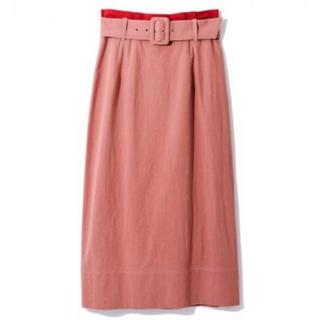 レディアゼル(REDYAZEL)のベルト付タックタイトスカート(ロングスカート)