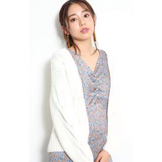 JUSGLITTY - 【美品♪】ジャスグリッティー♡ケーブルゆるカーデ