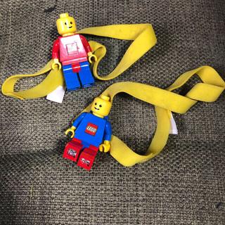 Lego - レゴ ヘッドライト 青い服赤いパンツ(写真の下側)