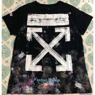 OFF-WHITE - OFF-WHITE ギャラクシー Tシャツ