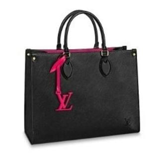 LOUIS VUITTON - 【Louis Vuitton】ONTHEGO MMトート/ロゴ