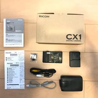 リコー(RICOH)のRICOH リコー CX CX1 BLACK(コンパクトデジタルカメラ)