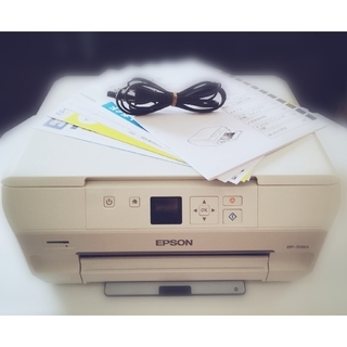 EPSON - EPSON プリンター EP-708A (美品) インク新品!!