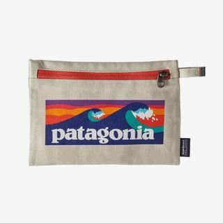 パタゴニア(patagonia)のパタゴニア  ジッパード ポーチ Boardshort Logo BLBE(ポーチ)