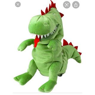 イケア(IKEA)の恐竜 ティラノサウルス ぬいぐるみ パペット ハンドパペット ディズニー(ぬいぐるみ)
