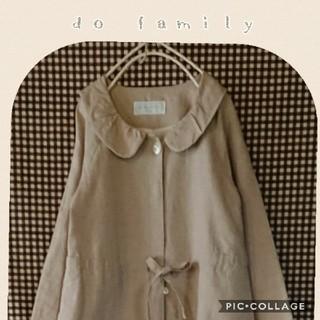 ドゥファミリー(DO!FAMILY)のdo!family リネンワンピースコート(ひざ丈ワンピース)