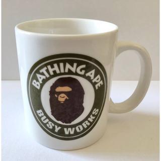 A BATHING APE - マグカップ bape cup グリーン サークルロゴ a bathing ape
