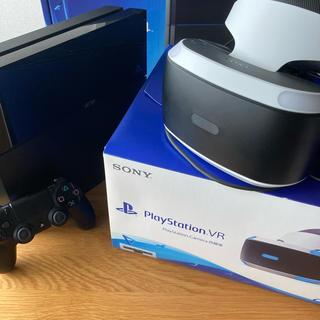 プレイステーション(PlayStation)の[値下げ]PS4 PSVRセット(家庭用ゲーム機本体)