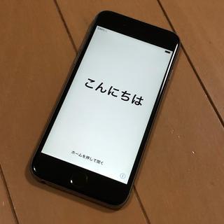 iPhone - 【SIMロック解除済み」iPhone6s 64GB  本体 スペースグレー