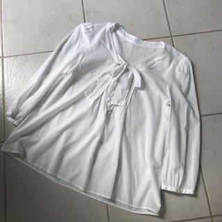 エフデ ブラウス リボン ホワイト S  7号