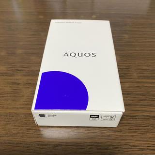 アクオス(AQUOS)のAQUOS sense 3 BASIC ブラック(スマートフォン本体)