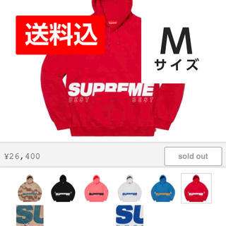 Supreme - Mサイズ Supreme best hooded パーカー