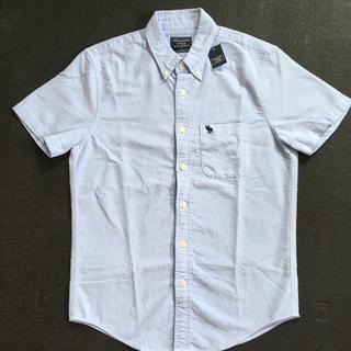 Abercrombie&Fitch - 新品Abercrombie&Fitch アバクロ 半袖オックスフォードシャツ