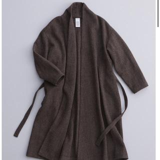nest Robe - アトリエナルセ ウールローブコート ブラック 19/20aw