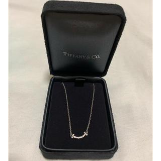 Tiffany & Co. - ティファニー Tスマイル(ミニ)ペンダント ダイヤ ホワイトゴールド