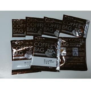 ドリップコーヒーバッグ▼7袋●インスタント 深いコク焙煎