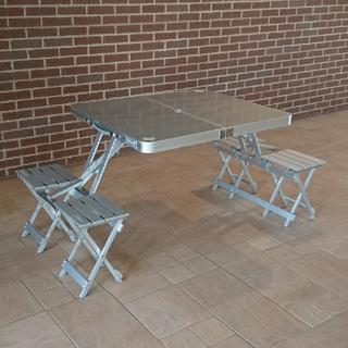 Coleman - コールマン  アルミ ピクニックテーブル