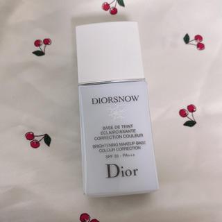 ディオール(Dior)のdior スノーメイクアップベース(化粧下地)